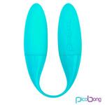 【販売終了・アダルトグッズ、大人のおもちゃアーカイブ】Pico Bong MAHANA Duo Vibe Blue (マハナ デュオバイブ ブルー)◇