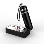 【販売終了・アダルトグッズ、大人のおもちゃアーカイブ】UTOO Super Mini Vibrator Remote (スーパーミニリモート) ブラック