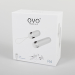 OVO R4 REMOTE WHITE/CHROME OVO-124
