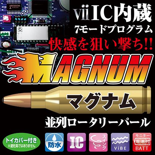 【販売終了・アダルトグッズ、大人のおもちゃアーカイブ】マグナム(Magnum) 商品説明画像5