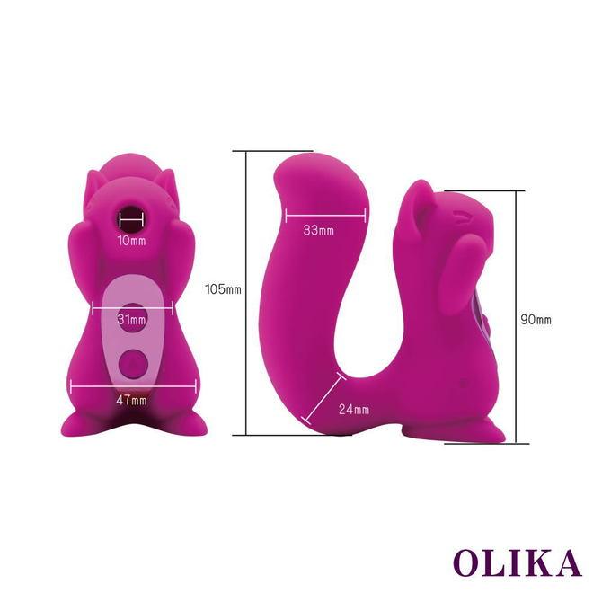 OLIKA Clice (オリカ クリス)【クリトリス吸引&バイブ】     PAGOS-023 ◇ 商品説明画像7