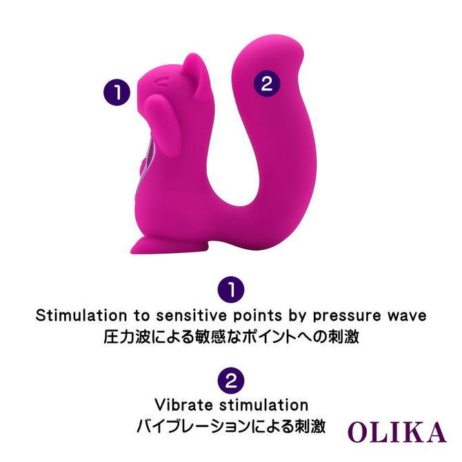 OLIKA Clice (オリカ クリス)【クリトリス吸引&バイブ】     PAGOS-023 ◇ 商品説明画像8