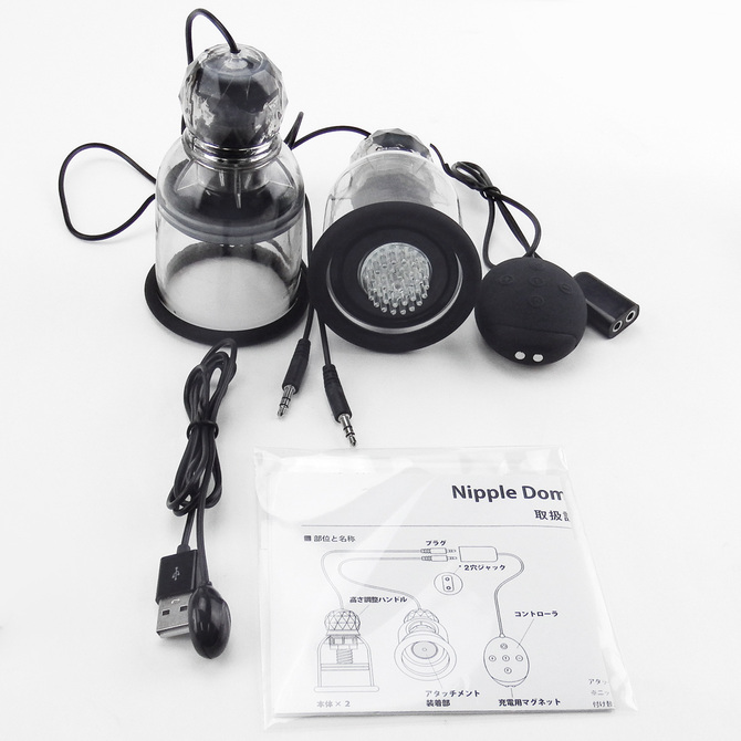 ニップルドームR ジャックタイプ ブラック Nipple Dome R Jack Type Black ◇ 商品説明画像6