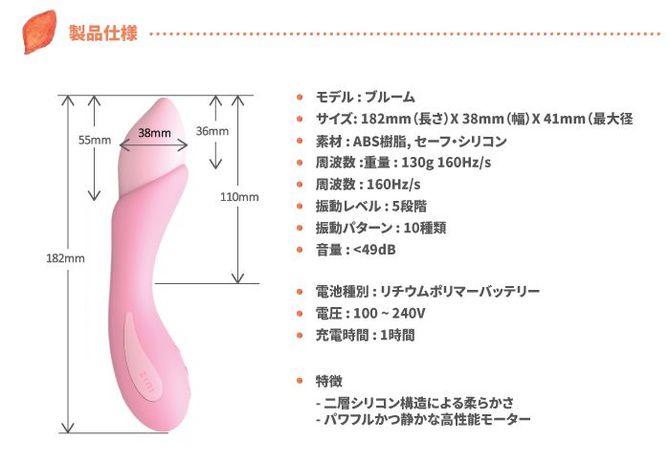 ZINI Bloom cherry blossom/ブルーム(チェリーブロッサム) 商品説明画像4