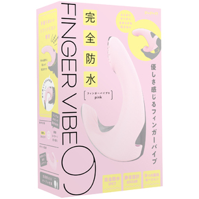 完全防水 FINGER VIBE 9[フィンガーバイブ9] pink     UPPP-203