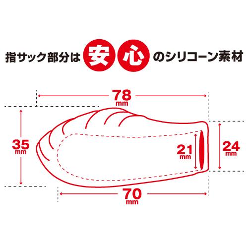 激震 指イカせサック(Finger sack rotor) トイズハート百戦錬磨シリーズ 商品説明画像4