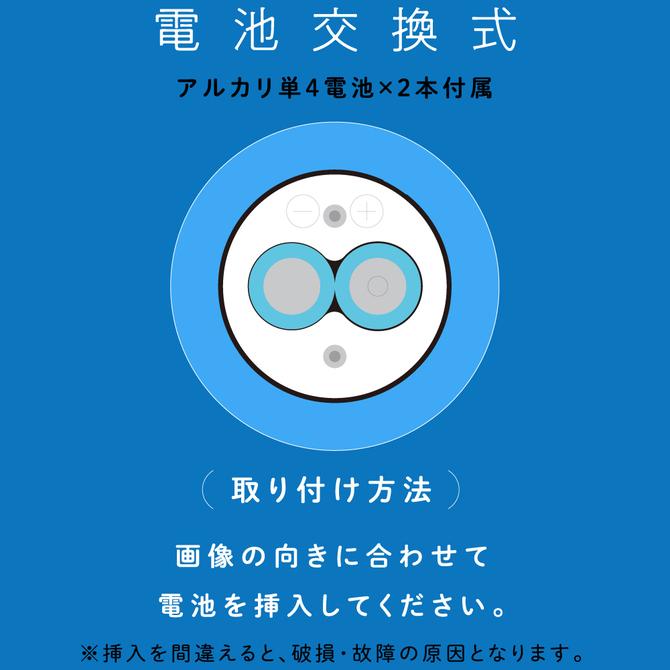 完全防水 VIVIBE finger light blue      UPPP-152 商品説明画像3