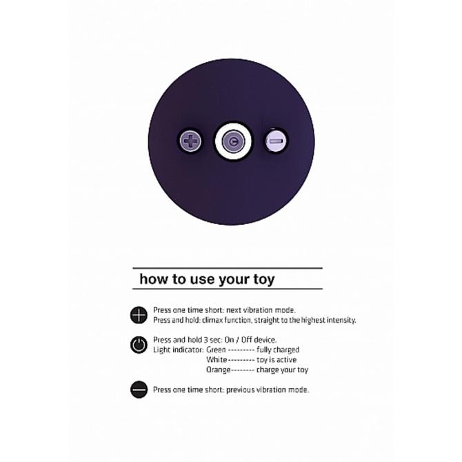Shiatsu【シアツ】 Bendable Massager Wand Purple     SKIT-113 商品説明画像9